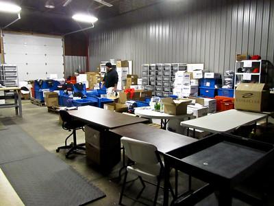 Murph in the EliteFTS Warehouse