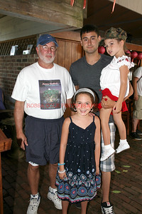 Congressman Tim Bishop, David, Theodora and Mikayla Wiener