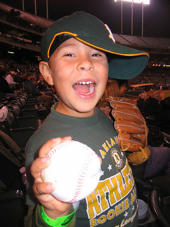 A's Game with the Will Sept. 2008