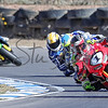 Troy Herfoss leading the pack Australian super bikes round 3