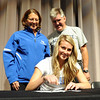 "Ashton Davis signs the letter to play for Air Force, as her parents, Robin and Walter, look on.<br /> Ashton Davis of Monarch High School has signed with Air Force to play basketball next year.<br /> For a video and more photos of Davis, go to  <a href=""http://www.dailycamera.com"">http://www.dailycamera.com</a>.<br /> Cliff Grassmick / November 9, 2011"