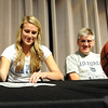 """Ashton Davis takes a big breath as she signs the letter to play for Air Force, her dad, Walter, looks  on.<br /> Ashton Davis of Monarch High School has signed with Air Force to play basketball next year.<br /> For a video and more photos of Davis, go to  <a href=""""http://www.dailycamera.com"""">http://www.dailycamera.com</a>.<br /> Cliff Grassmick / November 9, 2011"""