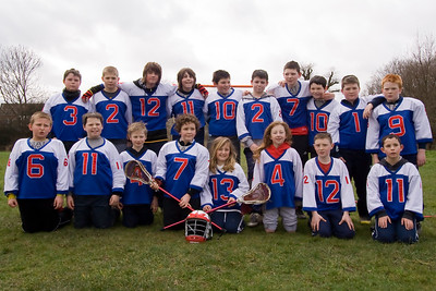 Ashton Lacrosse Club u12 Team