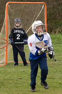 Ashton Lacrosse v Norbury 8th March 2008