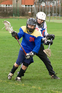 Ashton Lacrosse v Brooklands B - 26th January 2008