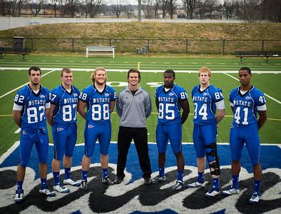 Group photos of ISU football team for 2012