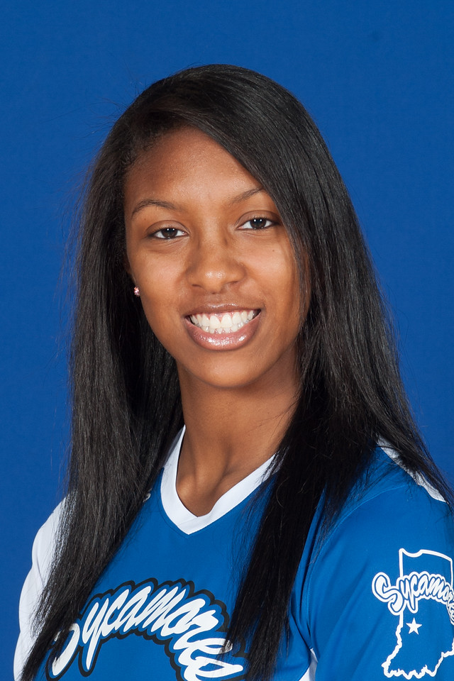 Volleyball team and individual portraits for 2012 season
