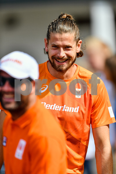 PAPENDAL, NETHERLANDS - JULY 8 Rutger Koppelaar of the Netherlands during an training at the Press presentation of the olympic team of the Dutch Athletics Federation at the Papendal Athletics track on July 8, 2021 in Papendal, Netherlands (Photo by Andy Astfalck Orange Pictures)