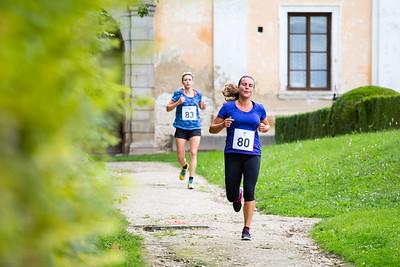 Běh zámeckou zahradou 2017 - Lysá nad Labem