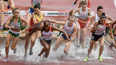 Europen Athletic Championships 3000m Steepchase