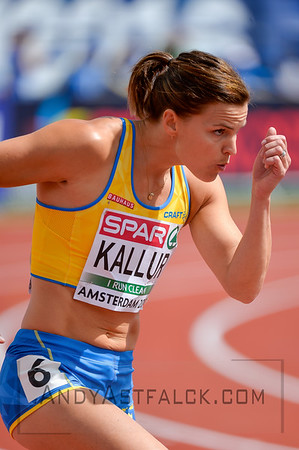 at the European Athletic Championships held in Amsterdam on the Wednesday the 6th of July 2016