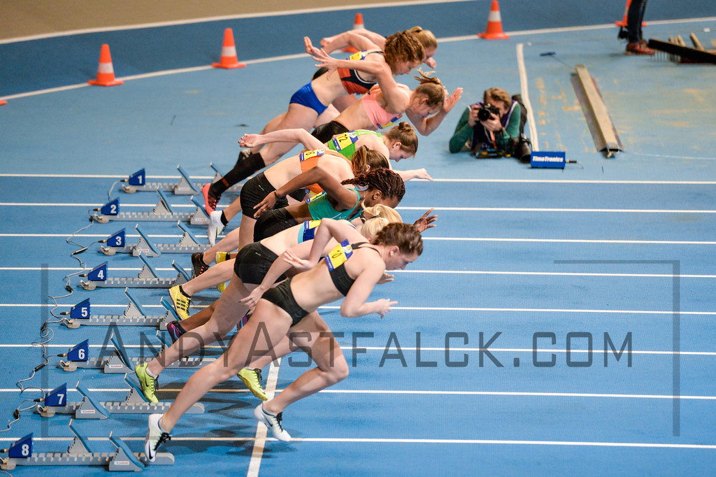 Atletiek Unie, Dutch Championships, AA Drink NK Indoor on February 27 2016 at the Omnisport Apeldoorn in Apeldoorn, Netherlands.