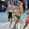 MELBOURNE, AUSTRALIA - FEBRUARY 09:  <br /> Annalisese Rubie of Australia running in the mixed 4x400m Nitro Athletics at Lakeside Stadium on February 9, 2017 in Melbourne, Australia.