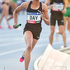 MELBOURNE, AUSTRALIA - FEBRUARY 09:<br /> Day, Christine from the Bolt All Stars running the mixed 4x400m Relay during Nitro Athletics at Lakeside Stadium on February 9, 2017 in Melbourne, Australia.