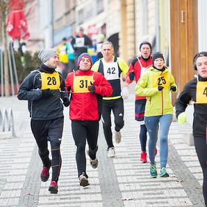 Silvestrovský běh - Lysá nad Labem 31/12/2016