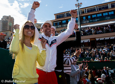 Masters Series : Finale-  Jelena Ristic encourage son fiancé Novak Djokovic