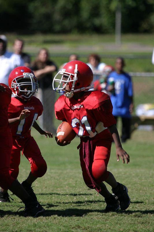 Lawrenceville Black Knights vs Liburn Patriotts 7U 9-18-04