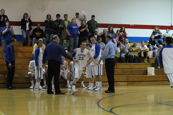 Auburn Boys Basketball vs Roanoke Valley Christian - 2011