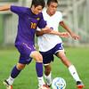 8-22-13   ---   Northwestern HS vs Guerin Catholic HS Boys Soccer. Final Score 4-3 Guerin. <br /> KT photo   Tim Bath