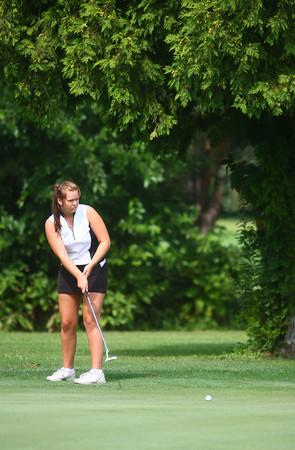 8-7-13<br /> Girls Golf<br /> Logansport no. 1 Alli Biggs<br /> KT photo | Kelly Lafferty