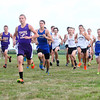 8-22-13<br /> Boys JV runs during Northwestern's cross country meet.<br /> KT photo | Kelly Lafferty