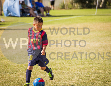 FC Barcelona in the 2013 Park City Cup, Park City, Utah (August 02, 2013)