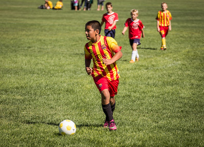 FC Barcelona in the 2013 Park City Cup, Park City, Utah (August 03, 2013)