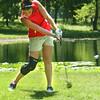 8-1-12<br /> Girls High School Golf - Kokomo Invitational<br /> Tipton's Taylor Mosier hitting onto the 3rd green.<br /> KT photo | Tim Bath