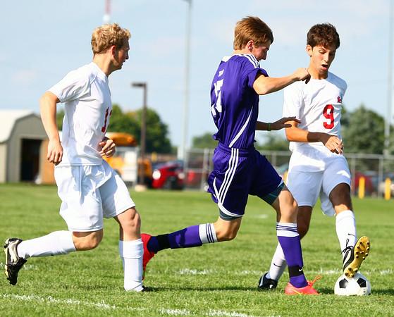 Kokomo vs. Northwestern soccer game