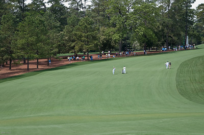 9th Hole @The Masters April 2010