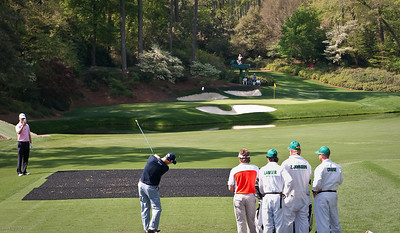 Ben Crane on the 12th Hole @ The Masters April 2010