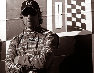 Dario Franchitti, Barber Motorsports Park, 2011. © David Bundy