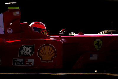 Michael Schumacher, Formula 1, 2001. © David Bundy