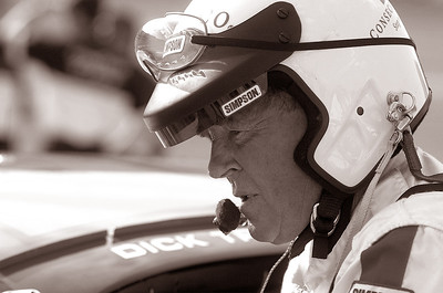 Driver Dick Trickle, Talladega Superspeedway, 2002. © David Bundy