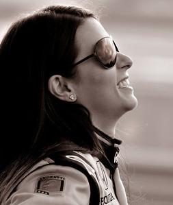 Danica Patrick, Barber Motorsports Park, 2011. © David Bundy