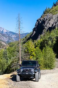 Engineer Pass Road, Colorado