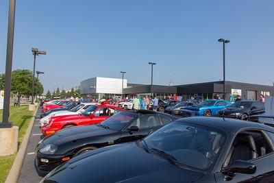 July Cars & Coffee @ Porsche Beachwood