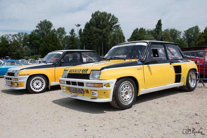 Rassembement Renault Sports Aix les bains