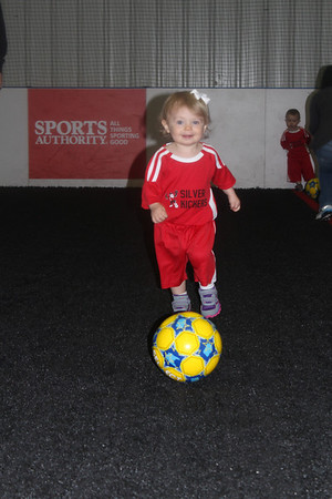 Avery's 1st Soccer Practice (March 2014)