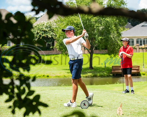 Judson Hays of Argyle tees during the Azalea Trail Junior Golf tournament held at Hollytree Country Club in Tyler on Monday, July 20, 2020.