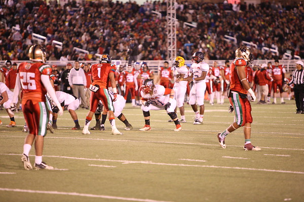Aztec Bowl 2nd Qtr