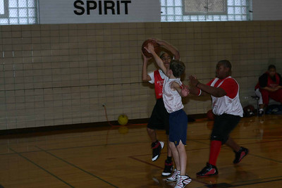 B-ball at the Y January 13, 2007
