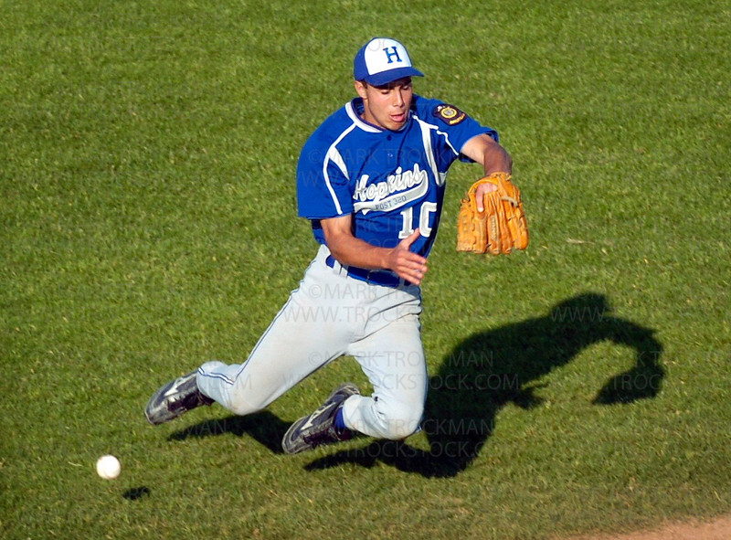 The Hopkins Legion team had trouble against Excelsior Tuesday losing 15-7 at Hopkins High School.  The two teams combined for 22 runs, 25 hits, eight errors, 11 walks and seven pitchers in a nearly three-hour game.