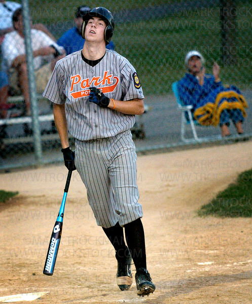 Park batters find no solace at the plate in their 13-0 loss to Wayzata in five innings Tuesday, July at Dakota Fields in St. Louis Park.