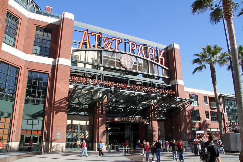 AT&T PARK - SAN FRANCISCO GIANTS