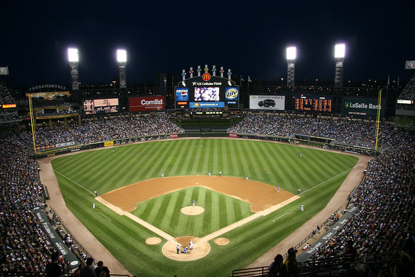 BASEBALL PARKS - U.S. CELLULAR FIELD - CHICAGO WHITE SOX
