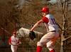 Winning pitcher VSSHS Senior, Nick Cavello. VSSHS vs Mineola, April 24th, 2007, 12-11. Photo by Kathy Leistner