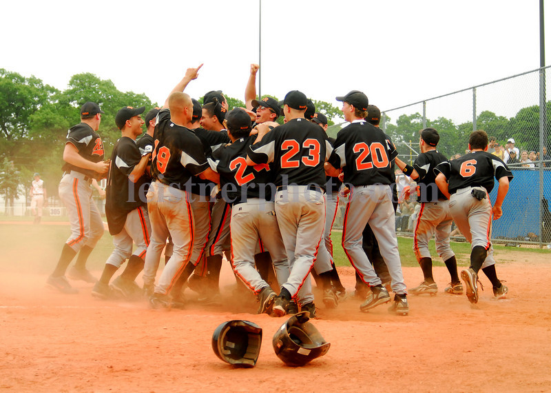 Celebration. ERHS vs Mercy. Class C Championship. Photo by Kathy Leistner