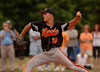 Photo 706 Larry Ulip, #19, Junior, ERHS, struck out 12 and walked 5. Photo by Kathy Leistner<br /> ERHS vs Mercy, 4-3.