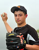 Dave Hobbs, Pitcher, E. Rockaway HS. May 4th, 2009. Photo by Kathy Leistner
